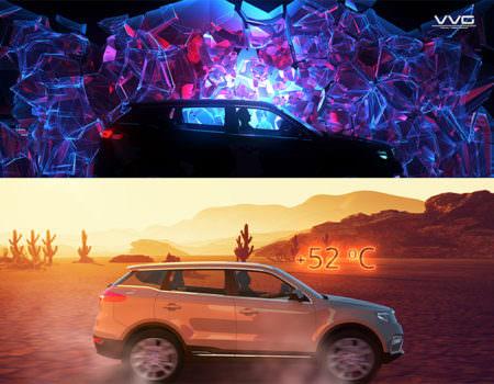 Презентация автомобиля Geely Atlas