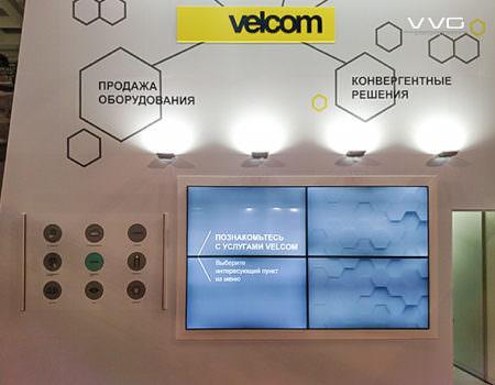 Сенсорный стенд для velcom
